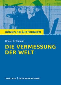 Die Vermessung der Welt von Daniel Kehlmann.