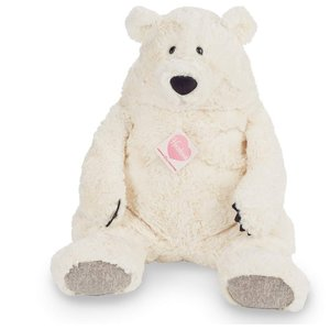 Teddy Hermann 93877 - Polarbär, Eisbär Jones, weiß, 50 cm, Plüsc