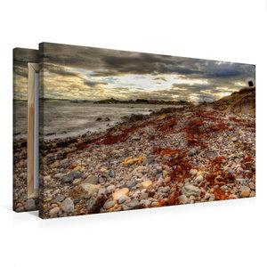 Premium Textil-Leinwand 75 cm x 50 cm quer Nordküste