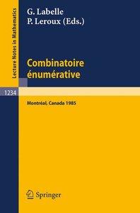 Combinatoire enumerative