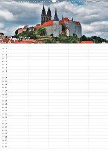 Burgen und Schlösser - Familienkalender (Wandkalender 2020 DIN A