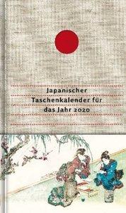 Japanischer Taschenkalender für das Jahr 2020