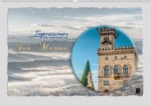 Impressionen - von und rund um San Marino (Wandkalender 2020 DIN
