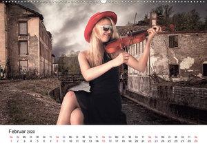 Musik an verlassenen Orten (Wandkalender 2020 DIN A2 quer)