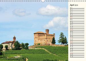 Die Langhe - Im Herzen des Piemonts (Wandkalender 2019 DIN A3 qu