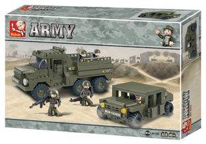 Sluban ARMY M38-B0306 - Mobiler Aufklärungstrupp, 379 Teile