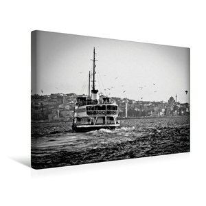 Premium Textil-Leinwand 45 cm x 30 cm quer Bosphorus Fähre