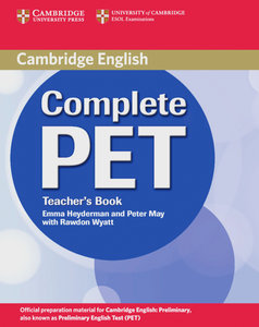 Complete PET. Teacher's Book