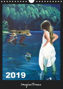 Imaginationen (Wandkalender 2019 DIN A4 hoch)