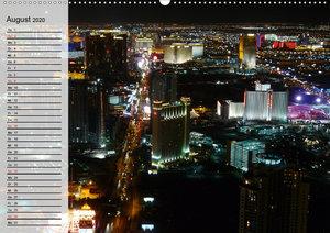 Metropolen. Großstadtlichter und Skylines (Wandkalender 2020 DIN