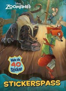 Disney - Zoomania Stickerbuch