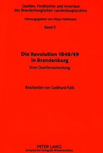 Die Revolution 1848/49 in Brandenburg