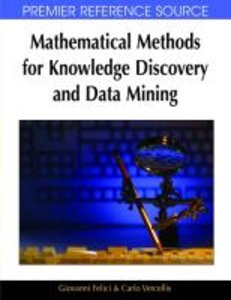 Mathematical Methods for Knowledge Discovery and Data Mining