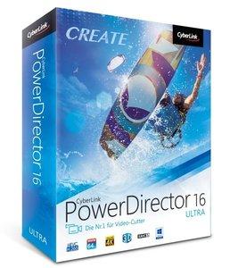 Cyberlink PowerDirector 16 Ultra/CD-ROM