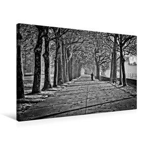 Premium Textil-Leinwand 75 cm x 50 cm quer Herbstimpression an d