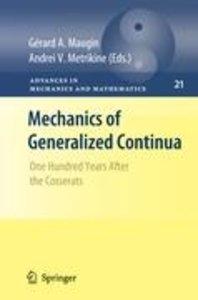 Mechanics of Generalized Continua