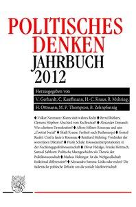 JPD - Politisches Denken. Jahrbuch 2012