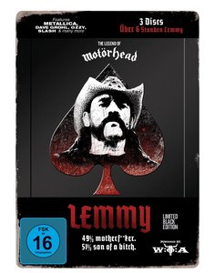 Lemmy - The Movie (Ltd. Black Edition)