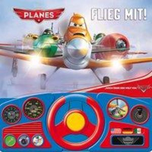 Planes Lenkradbuch: Flieg mit!