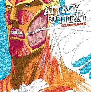 Attack on Titan: Adult Coloring Book
