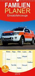 Einsatzfahrzeuge - Familienplaner hoch (Wandkalender 2019 , 21 c