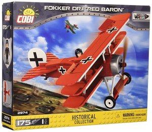 Cobi 2974 - Historical Collection, Fokker Dr.i Red Baron, Konstr