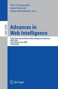Advances in Web Intelligence
