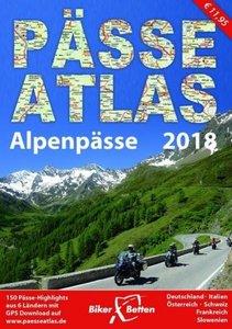 Biker Alpenpässe Atlas 2018