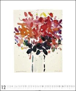 Oskar Koller - Die Farben der Blumen Kalender 2020