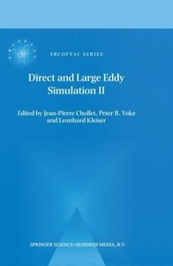 Direct and Large-Eddy Simulation II