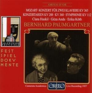 Doppelkonzert KV 365/Arien/Sinfonie KV 112/+