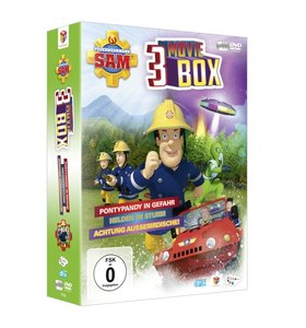 Feuerwehrmann Sam - 3 MovieBox (Limited Edition)