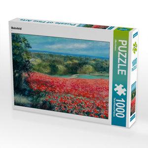 Mohnfeld 1000 Teile Puzzle quer