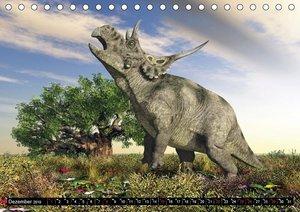 Dinosaurier. Urzeitliche Giganten (Tischkalender 2019 DIN A5 que