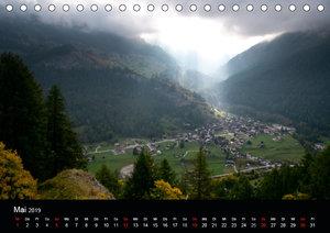 Lichtstimmungen Schweiz 2019 (Tischkalender 2019 DIN A5 quer)