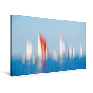 Premium Textil-Leinwand 75 cm x 50 cm quer Spinnakerfeld