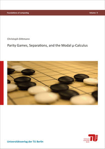 Parity games, separations, and the modal µ-calculus