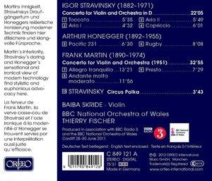 Violin Concertos,Pacific 231,Rugby,Circus Polka