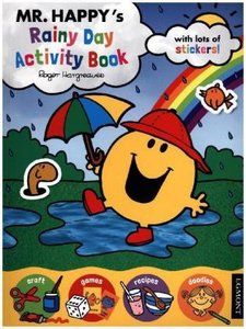 Mr Happy\'s Rainy Day Activity Book