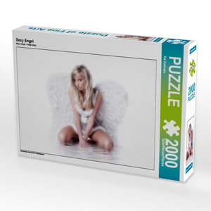 Sexy Engel 2000 Teile Puzzle quer