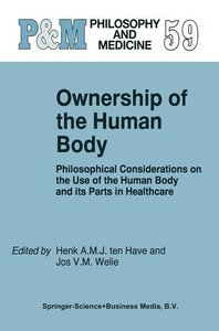 Ownership of the Human Body