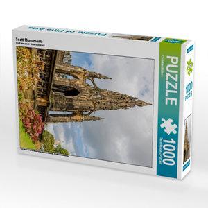 CALVENDO Puzzle Scott Monument 1000 Teile Lege-Größe 48 x 64 cm