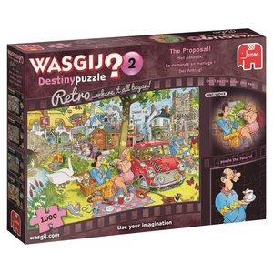 Puzzel Wasgij 2 Retro Het Aanzoek 1000 Stukjes