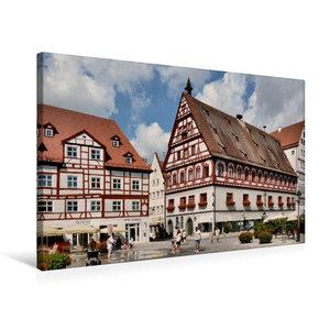 Premium Textil-Leinwand 75 cm x 50 cm quer Brot - und Tanzhaus