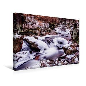 Premium Textil-Leinwand 45 cm x 30 cm quer Ilsefälle