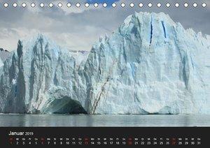 Die Antarktis / CH-Version (Tischkalender 2019 DIN A5 quer)