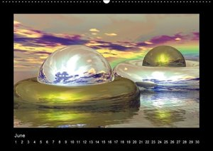 The third dimension (Wall Calendar perpetual DIN A2 Landscape)