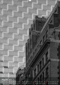 New York - Szenen in Schwarz - Weiß (Wandkalender 2019 DIN A2 ho