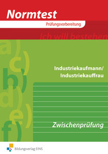 Normtest Industriekaufmann/Industriekauffrau