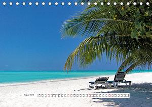 So schön sind die Malediven (Tischkalender 2018 DIN A5 quer)